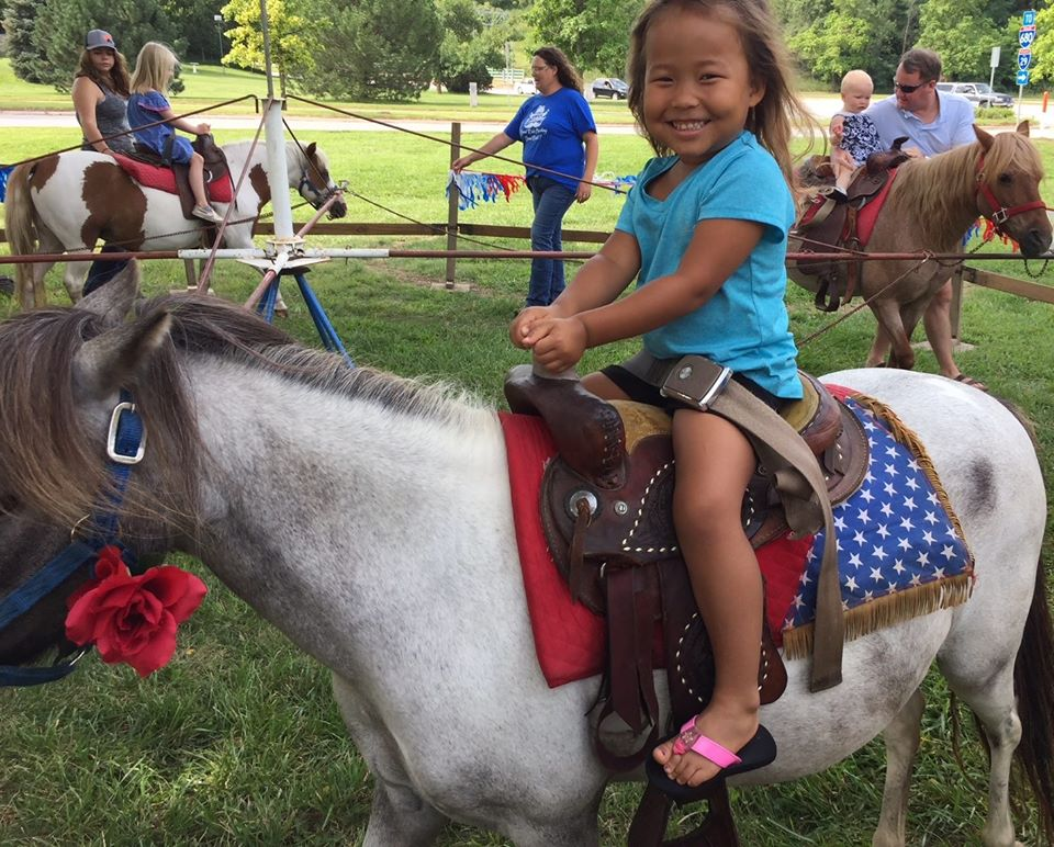 image of pony rides at FLorence Mill Farmers' Market