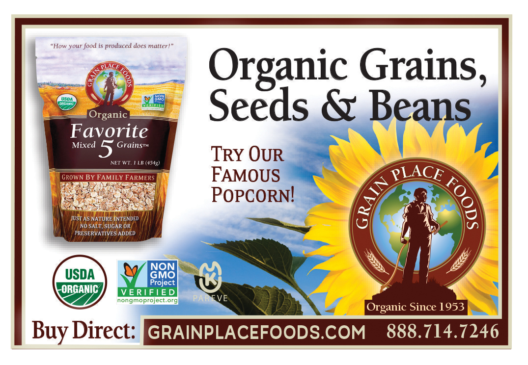 Grain Place Foods ad