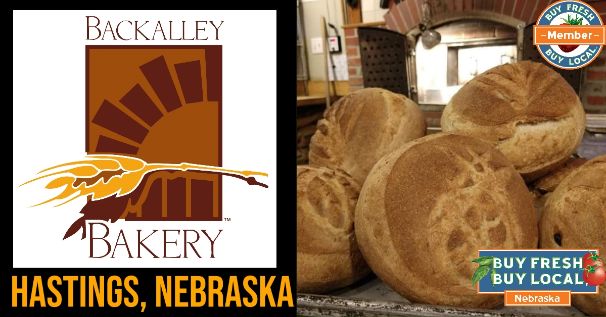 BackAlley logo and image of bread