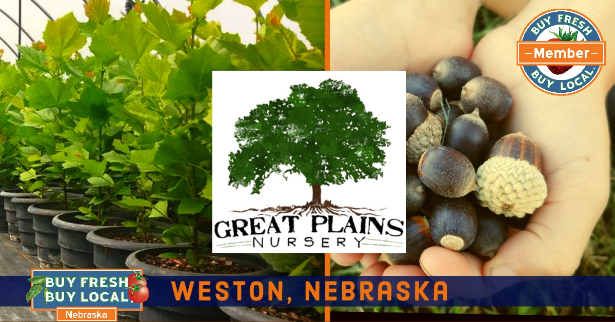 Great Plains Nursery Weston Nebraska