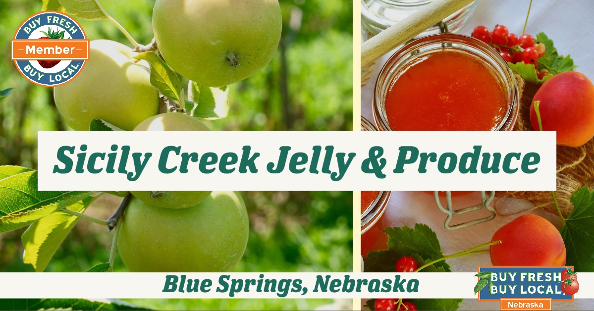 Sicily Creek Jelly and Produce Blue Springs Nebraska