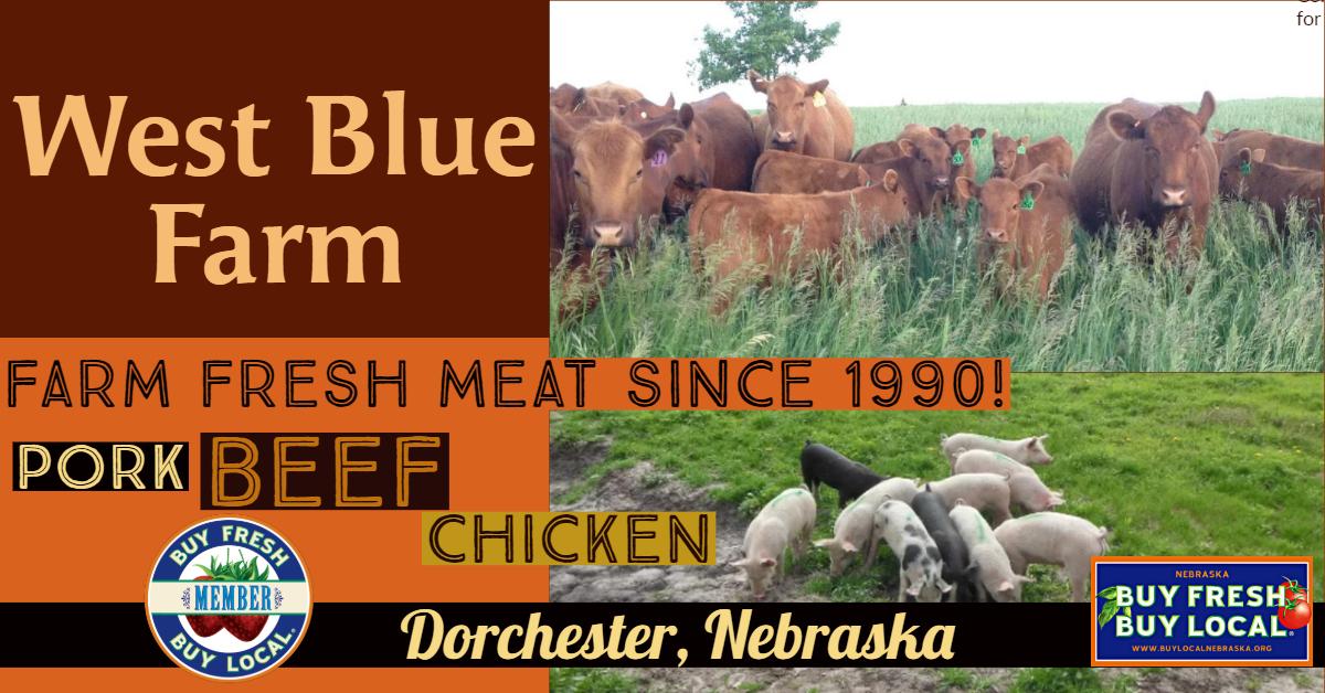 West Blue Farm Dorchester Nebraska