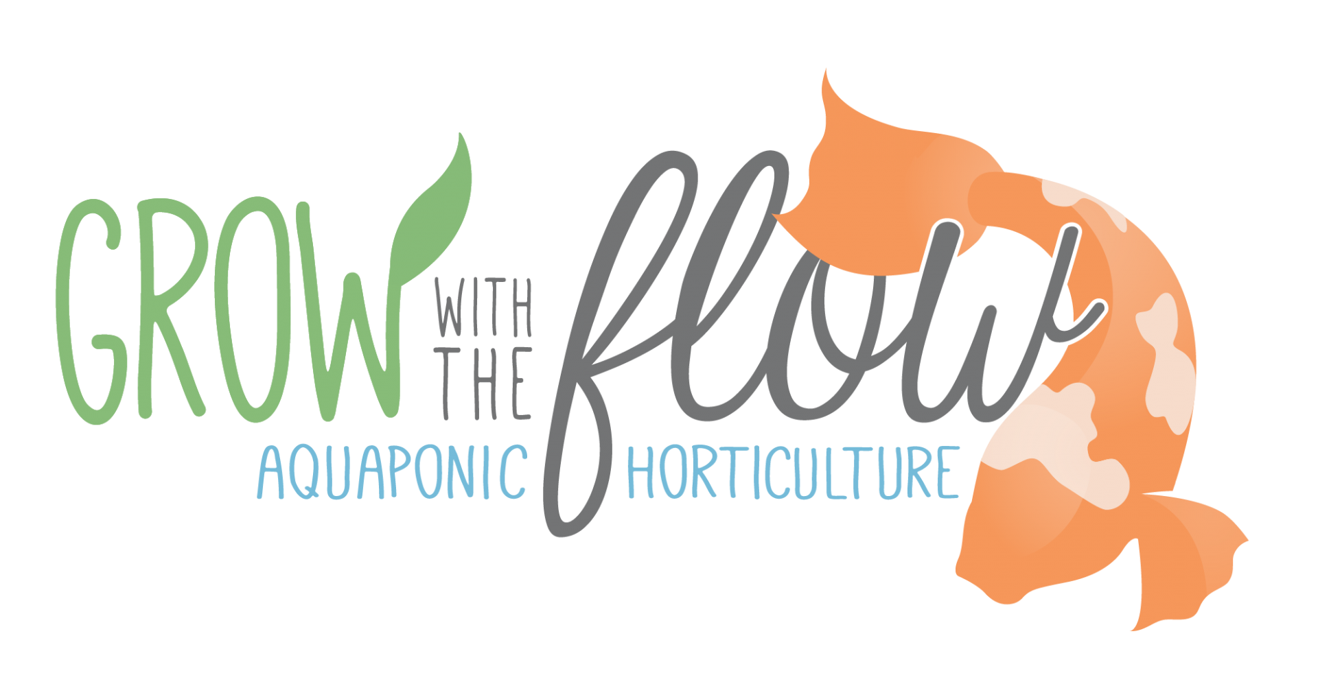 Grow with the Flow Logo