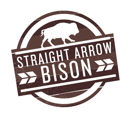 Straight Arrow Bison Ranch Logo