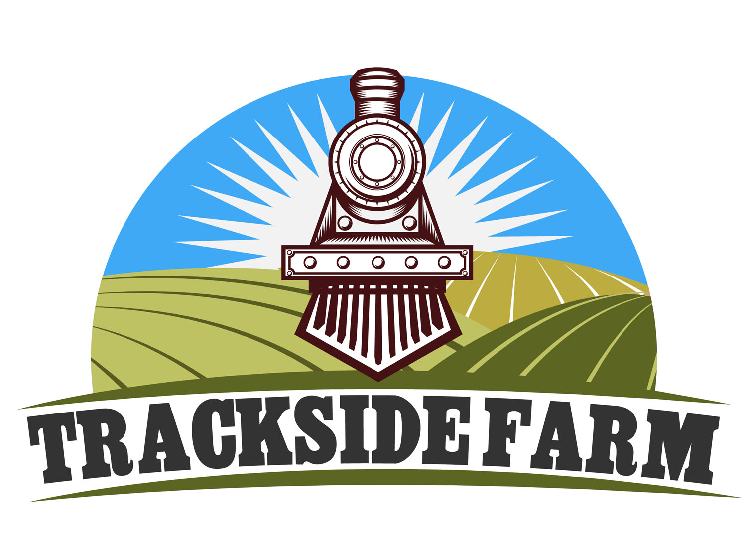 Trackside Farm Logo