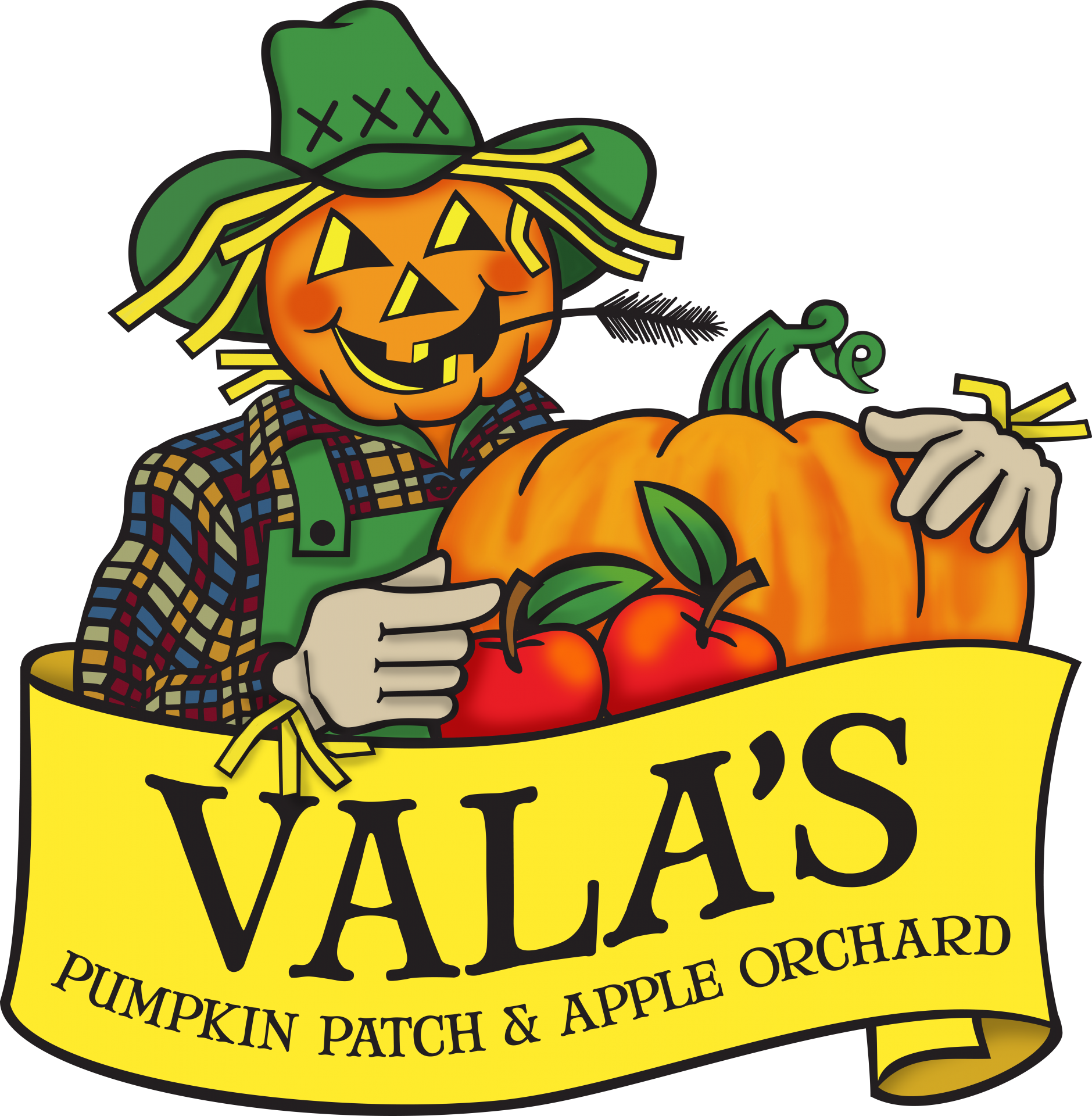 Vala's Pumpkin Patch and Apple Orchard Logo
