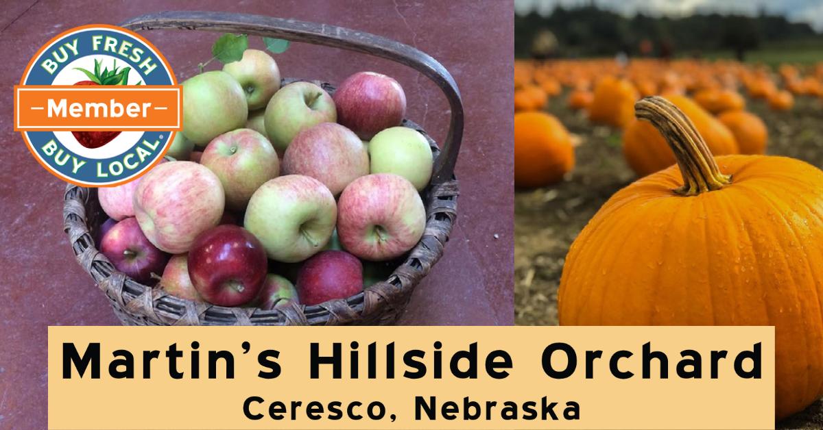 Martin's Hillside Orchard Ceresco Nebraska