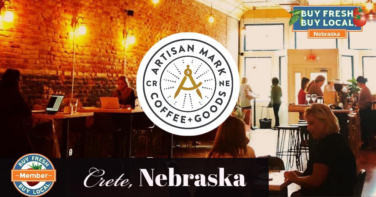 artisan Mark Coffee + Goods Crete Nebraska