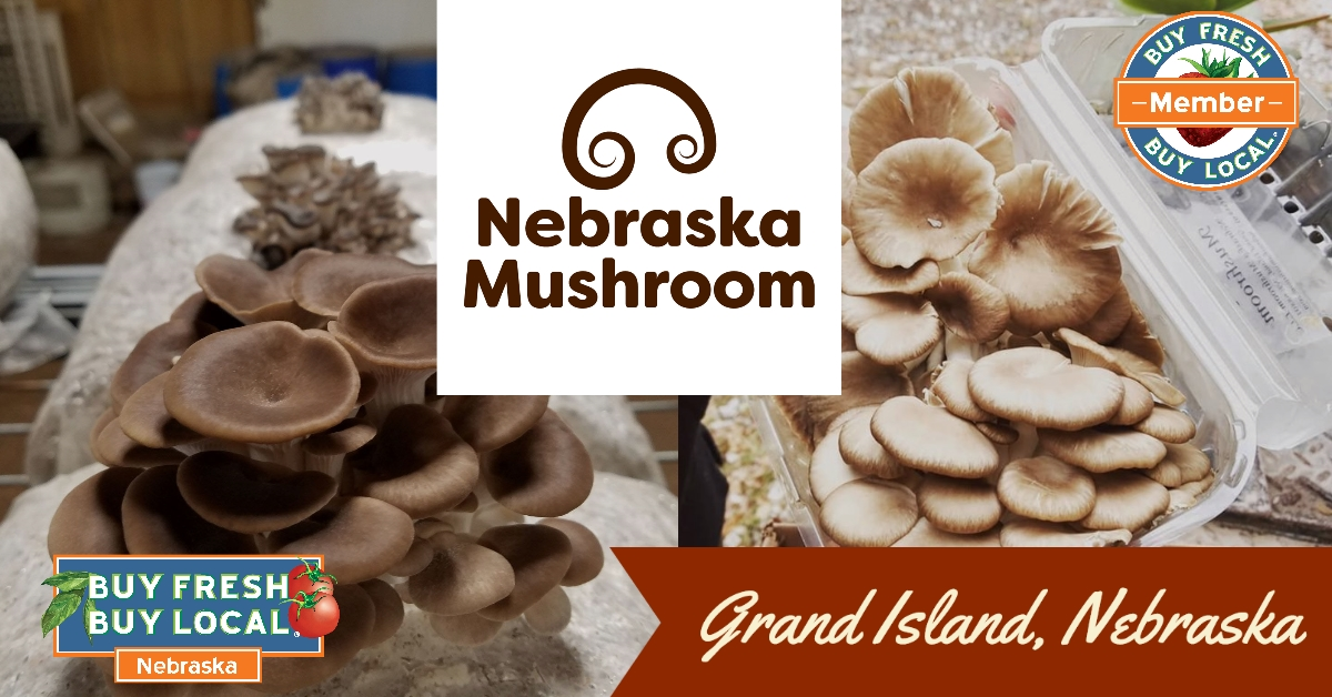 Nebraska Mushroom Grand Island Nebraska
