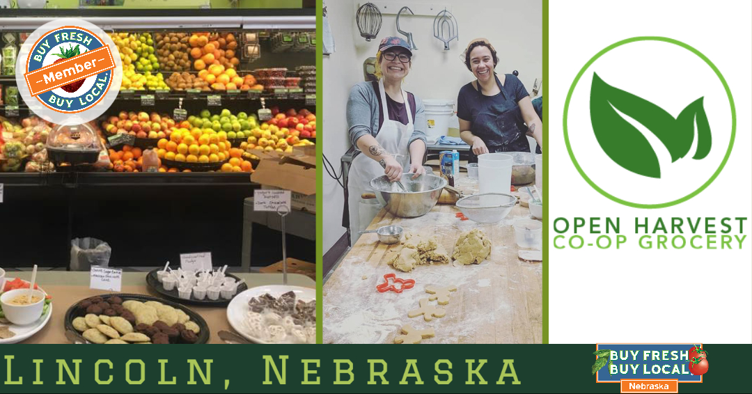 Open Harvest Co-op Grocery Lincoln Nebraska